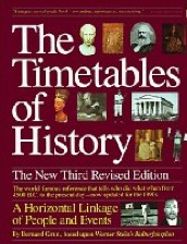 The Timetables of History: A Horizontal Linkage of People and Events by Bernard Grun